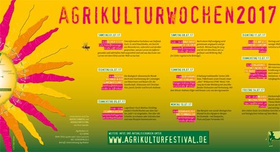 01.-21.07.2017 Agrikultur Wochen Freiburg
