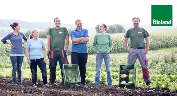 Das Team der Vielfalt schmeckt Kooperation Anbauverband Bioland