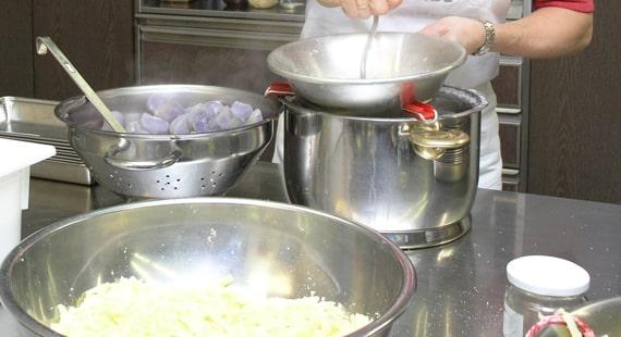 Kochshow auf der Anuga Messe