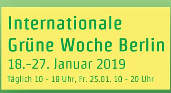 Internationale Grüne Woche in Berlin 2019