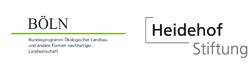 Vielfaltschmeckt Förderer BÖLN und Heidehof Stiftung