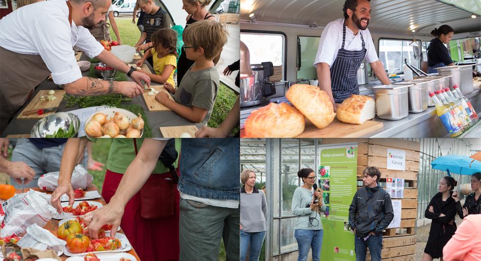 Kochen mit Kindern, Caterina, Verkostung, Hoftalk
