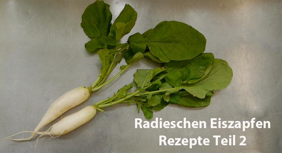 Kurzvideo Radieschen Eiszapfen Rezept